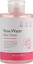 Fragrances, Perfumes, Cosmetics Rose Water Base Toner - Secret Key Rose Water Base Toner