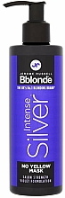 Fragrances, Perfumes, Cosmetics Blonde, Grey & Bleached Hair Mask - Jerome Russell Bblonde Intense Silver No Yellow Mask