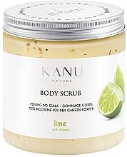 "Fragrances, Perfumes, Cosmetics Body Scrub ""Lime"" - Kanu Nature Lime Body Scrub"
