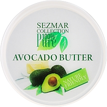 "Fragrances, Perfumes, Cosmetics Body Butter ""Avocado"" - Sezmar Collection"