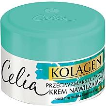 Fragrances, Perfumes, Cosmetics Moisturizing Cream for Normal and Combination Skin - Celia Collagen Cream
