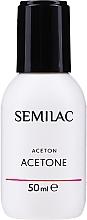 Fragrances, Perfumes, Cosmetics Gel Polish Removing Cosmetic Acetone - Semilac Acetone
