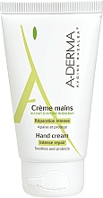 Fragrances, Perfumes, Cosmetics Hand Cream with Oat Milk - A-Derma Intensiv Repair Handcreme