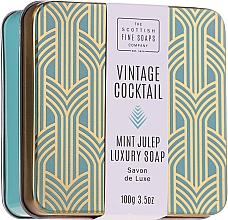 Fragrances, Perfumes, Cosmetics Hand & Body Soap - The Scottish Fine Soaps Company Vintage Cocktail Mint Julep Luxury Soap