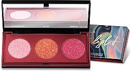 Fragrances, Perfumes, Cosmetics Eyeshadow Palette - Nabla Glimmer Light Multi-Reflective Illuminating Pallette