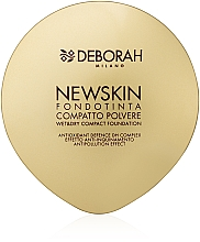 Fragrances, Perfumes, Cosmetics Compact Foundation Powder - Deborah New Skin Compact Foundation