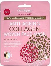 Fragrances, Perfumes, Cosmetics Facial Sheet Mask - Derma V10 Woven Face Mask Anti Ageing Collagen