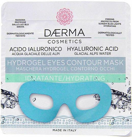Hydrating and Firming Hydrogel Mask - Daerma Cosmetics Hydrogel Eyes Contour Mask — photo N1