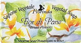 "Fragrances, Perfumes, Cosmetics Natural Soap ""Bread Flowers"" - Florinda Sapone Vegetale Vegetal Soap Bread Flowers"