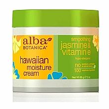Fragrances, Perfumes, Cosmetics Moisturizing Vitamin E & Jasmine Face Cream - Alba Botanica Natural Hawaiian Moisture Cream Smoothing Jasmine & Vitamin E