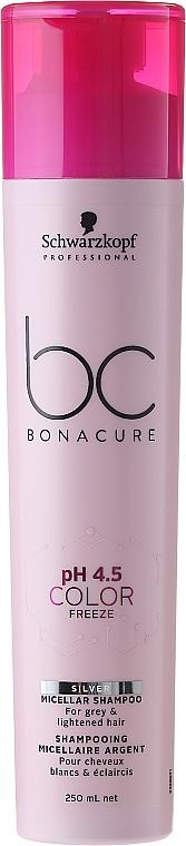 Silver Shampoo for Blonde Hair - Schwarzkopf Professional Bonacure Color Freeze pH 4.5 Silver Shampoo