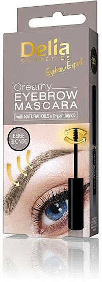 Creamy Brow Mascara - Delia Creamy Eyebrow Mascara