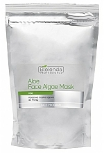 Fragrances, Perfumes, Cosmetics Alginate Face Mask with Aloe - Bielenda Professional Face Algae Mask with Aloe (refill)