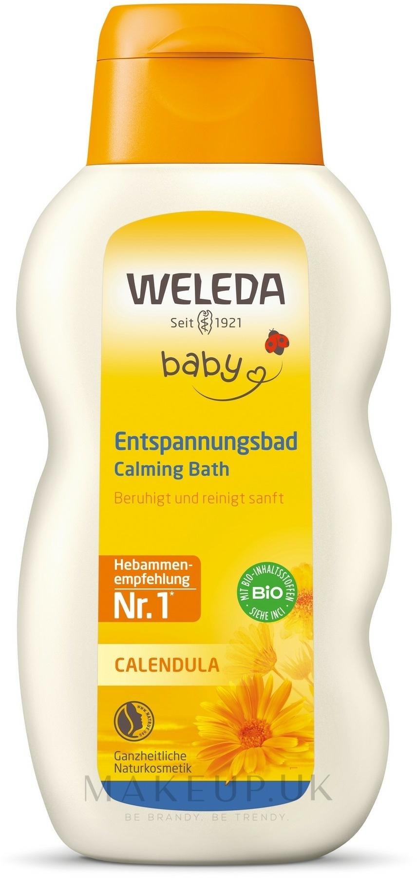 Bath Liquid for Infants - Weleda Calendula-Bad — photo 200 ml