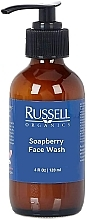 Fragrances, Perfumes, Cosmetics Cleansing Gel - Russell Organics Soapberry Face Wash Gentle Cleanser