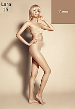 "Fragrances, Perfumes, Cosmetics Women's Tights ""Lara"", 15 Den, visone - Veneziana"