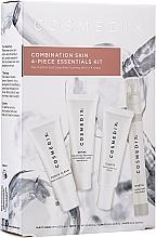 Fragrances, Perfumes, Cosmetics Set - Cosmedix Combination Skin 4-Piece Essentials Kit (f/cleanser/15ml + f/ser/15ml + f/ser/15ml + f/mist/15ml)