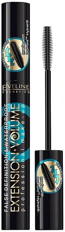 Lash Mascara - Eveline Cosmetics Extension Volume Waterproof Mascara