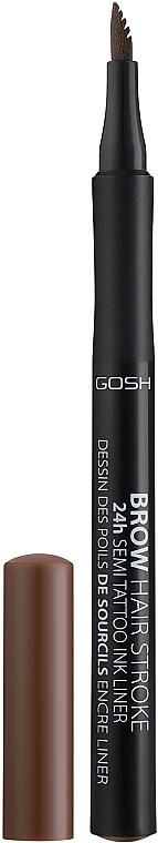 Brow Liner - Gosh Brow Hair Stroke 24H Semi Tatoo Brow Liner