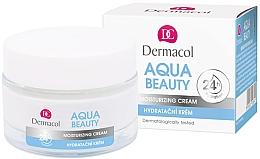 Fragrances, Perfumes, Cosmetics Moisturizing Face Cream - Dermacol Aqua Beauty Moisturizing Cream