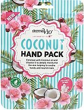Fragrances, Perfumes, Cosmetics Coconut Hand Mask - Derma V10 Coconut Hand Pack