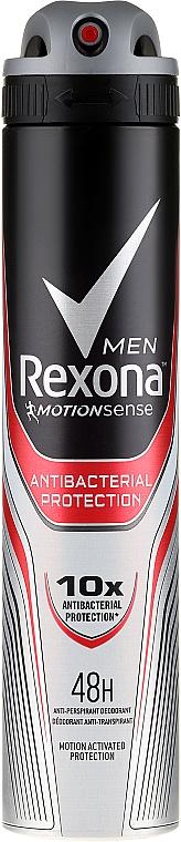 Antiperspirant-Deodorant - Rexona Antibacterial Protection Antiperspirant