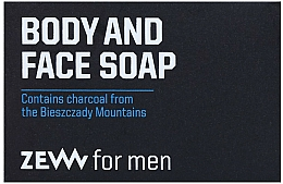Fragrances, Perfumes, Cosmetics Face & Body Soap Bar - Zew For Men Body And Face Soap