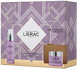 Fragrances, Perfumes, Cosmetics Set - Lierac Lift Integral Nutri (f/cr/50ml + f/ser/30ml + pouch)