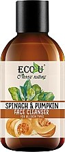 """Fragrances, Perfumes, Cosmetics Cleansing Gel """"Spinach & Pumpkin"""" - Eco U Pumpkins And Spinach Face Cleanser"""
