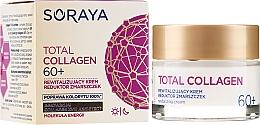 Fragrances, Perfumes, Cosmetics Anti-Wrinkle Day and Night Repair Cream 60+ - Soraya Total Collagen 60+