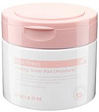 Fragrances, Perfumes, Cosmetics Moisturizing Peeling Pads - Mizon Pore Fresh Peeling Toner Pad