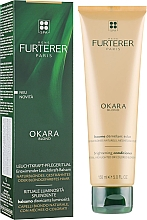 Fragrances, Perfumes, Cosmetics Natural Blonde & Color-Treated Hair Conditioner - Rene Furterer Okara Blond Brightening Conditioner