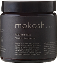 """Fragrances, Perfumes, Cosmetics Body Butter """"Vanilla & Thyme"""" - Mokosh Cosmetics Body Butter Vanilla & Thyme"""