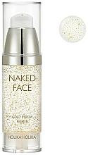 Fragrances, Perfumes, Cosmetics Illuminating Primer Serum - Holika Holika Naked Face Gold Serum Primer