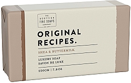 Fragrances, Perfumes, Cosmetics Shea & Buttermilk Soap - Scottish Fine Soaps Original Recipes Shea & Buttermilk Luxury Soap Bar