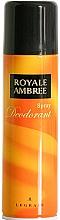 Fragrances, Perfumes, Cosmetics Legrain Royale Ambree - Deodorant Spray