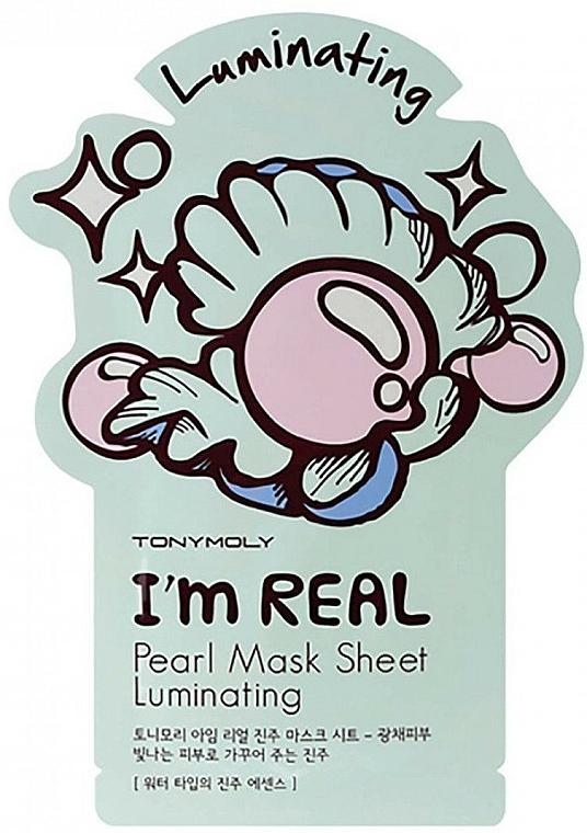 Facial Pearl Sheet Mask - Tony Moly I Am Pearl Sheet Mask
