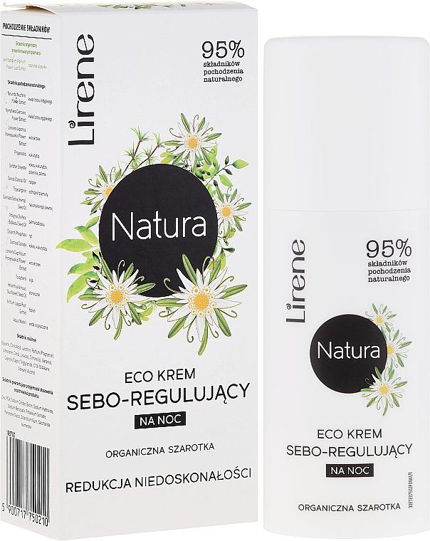 "Night Face Cream ""Edelweiss"" - Lirene Natura Eco Cream"