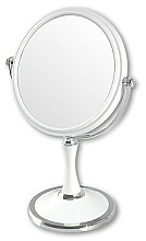 Fragrances, Perfumes, Cosmetics Double-Sided Cosmetic Mirror, 85642, white - Top Choice