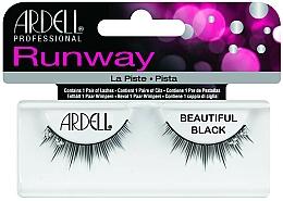 Fragrances, Perfumes, Cosmetics False Lashes - Ardell Runway Lashes Beautiful Black
