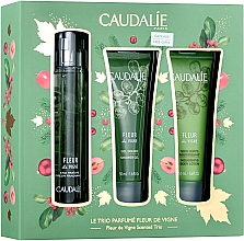 Fragrances, Perfumes, Cosmetics Caudalie Fleur De Vigne - Set (edt/50ml + sh/gel/50ml + lotion/50ml)