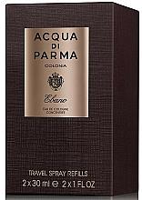 Fragrances, Perfumes, Cosmetics Acqua di Parma Colonia Ebano Travel Spray Refills - Eau de Cologne