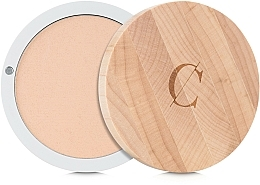 "Fragrances, Perfumes, Cosmetics Compact Mineral Powder ""Perfection"" - Couleur Caramel Mineral Powder"
