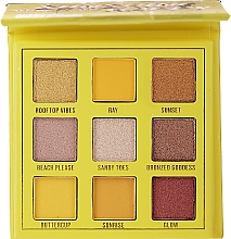 Fragrances, Perfumes, Cosmetics Eyeshadow Palette, 9 shades - Makeup Obsession Shadow Palette