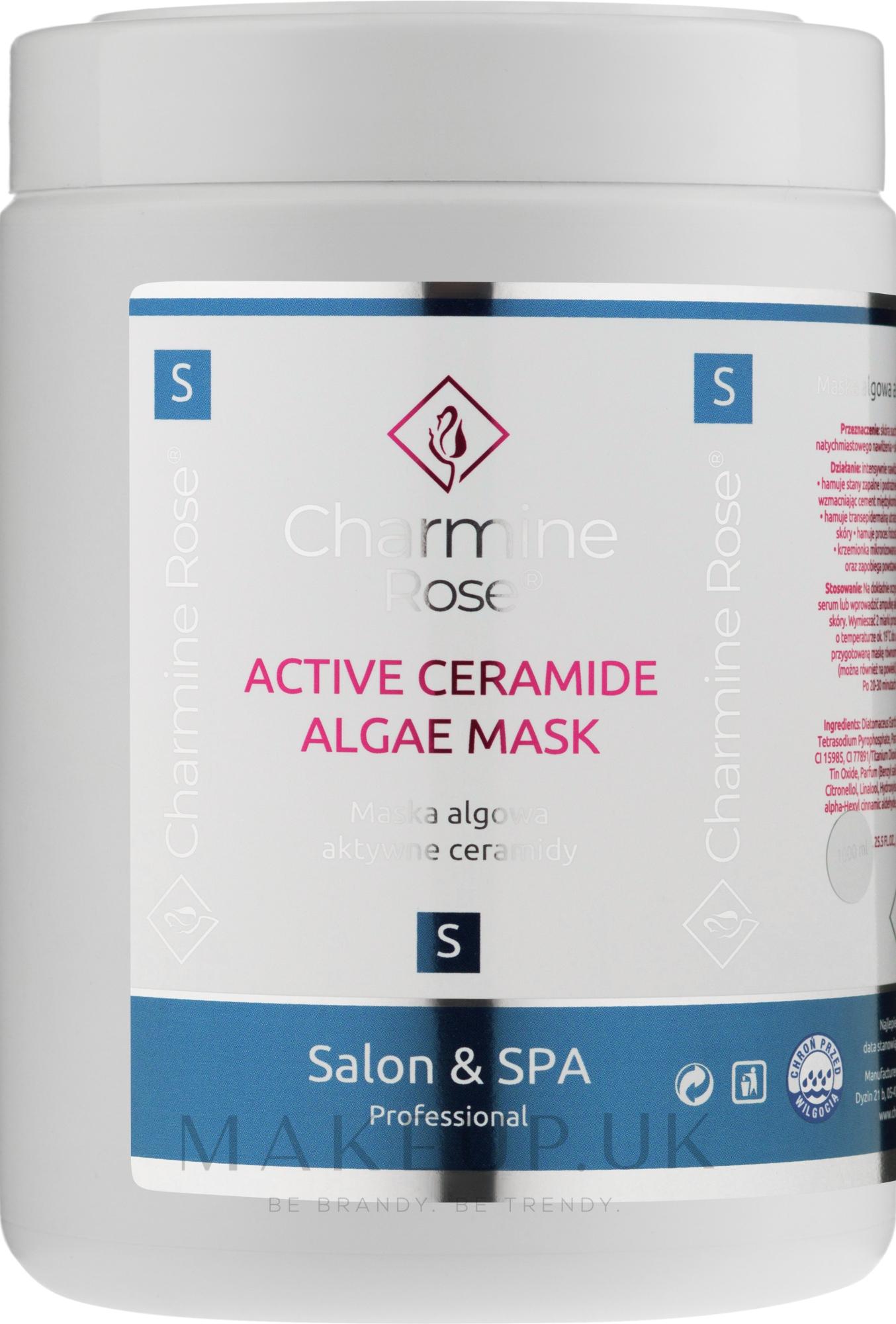 Alginate Face Mask with Ceramides - Charmine Rose Active Ceramide Algae Mask — photo 252 g