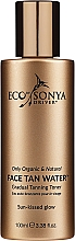 Fragrances, Perfumes, Cosmetics Self-Tanning Face, Neck & Decollete Toner - Eco by Sonya Eco Tan Face Tan Water
