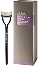 Fragrances, Perfumes, Cosmetics Lash Comb - M2Beaute Quick-Change Artists High Precision Eyelash Comb