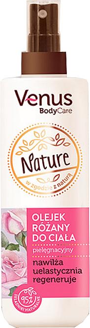 Body Rose Oil - Venus Nature Rose Body Oil