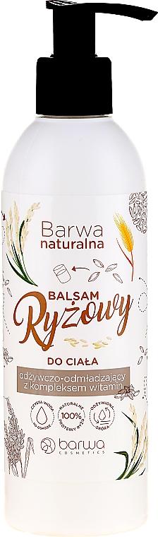 Rice Body Balm - Barwa Naturalna