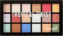 Fragrances, Perfumes, Cosmetics Eyeshadow Palette - Barry M Eyeshadow Palette Tropical Twist